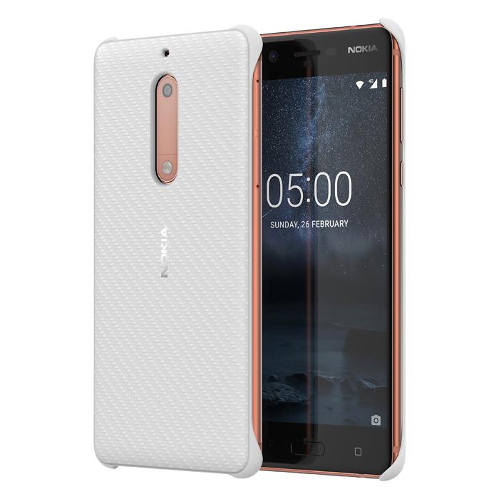 newest d6953 dfd6e Nokia Case CC-803 Carbon Fibre Nokia 5 White